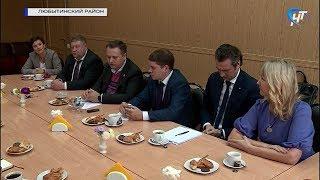 Губернатор Андрей Никитин встретился с активом Любытинского района