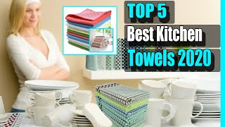 Kitchen Towels: 5 Best Kitchen Towels 2020 (Buying Guide)