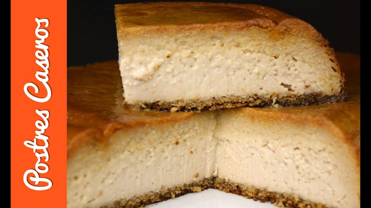 Pudin de queso y nueces | Javier Romero
