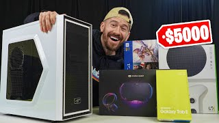 I Bought $5,000 Worth Of Tech At An AUCTION!!