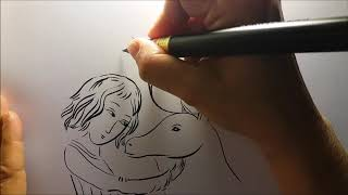 LIVE DRAWING. Make flowers