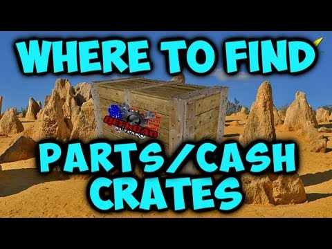 WHERE TO FIND PARTS/CASH (Offroad Outlaws)