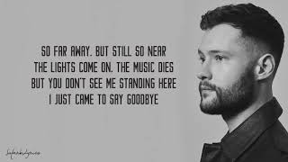 Dancing On My Own   Calum Scott Lyrics Video