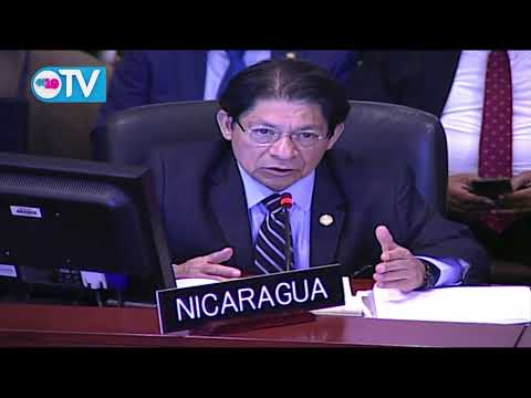 Terrorismo y el crimen organizado intentan destruir Nicaragua