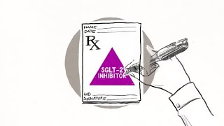 How an SGLT-2 inhibitor works