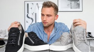 Giuseppe Zanotti London Suede Trainers Unboxing   Mens Fashion 2020
