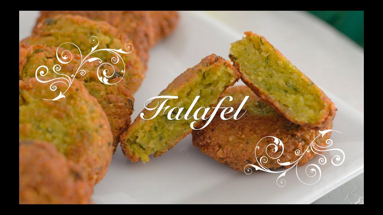 Falafel de Garbanzos | Como hacer Falafel de Garbanzos con Salsa de Yogur | Falafel Thermomix