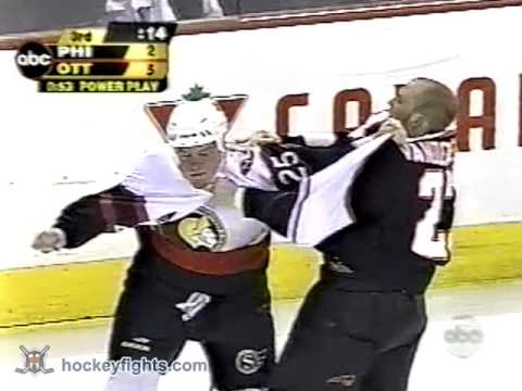 Jim Vandermeer vs Chris Neil