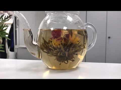 aufguss im zeitraffer | tea people | teeblume