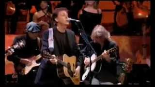 Paul McCartney - Concert for George - For You Blue