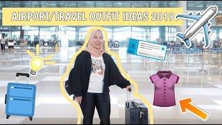 AIRPORT OUTFIT IDEAS 2019   Travel Outfit Ideas Lookbook   Aulia Addini