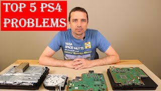 Top 5 PS4 Problems With Solutions