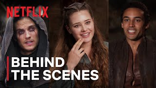 Behind the Scenes of Cursed   Netflix