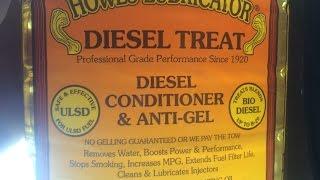 Using Diesel anti-gel