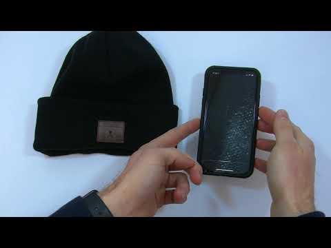 Wearable: 4smarts Beanie Cappellino invernale microfono ed auricolari Bluetooth
