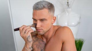 Mens Natural No Makeup Makeup Tutorial | Beginners Step By Step