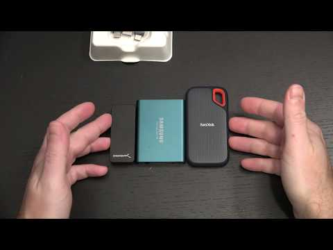 SanDisk 2TB Extreme Portable External SSD Unboxing and First Look
