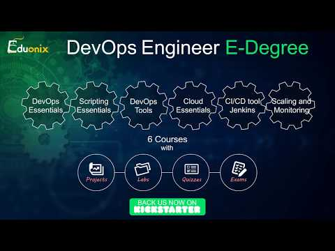 DevOps Engineer E-Degree | Support us on Kickstarter