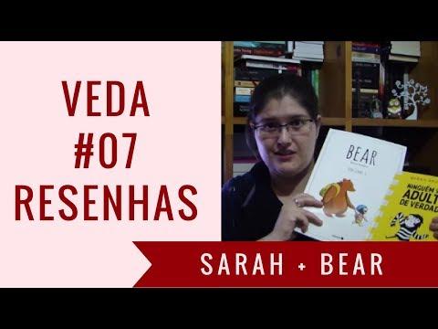 VEDA #07 - #Resenhas: Sarah Andersen e Bear | Estante, Livros, Coleção #24