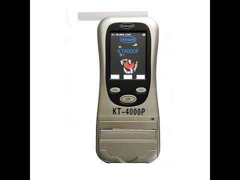 KT-4000P Breath Analyzer Inbuilt Printer