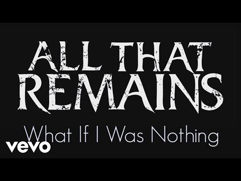 What If I Was Nothing (Lyric Video)
