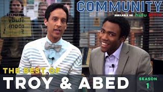 Best of Troy and Abed: Community S01 - LeoAshe.com/community