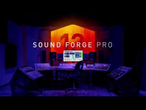 ה-SOUND FORGE Pro 13 Suite - גרסת המקצוענים יצאה לאור