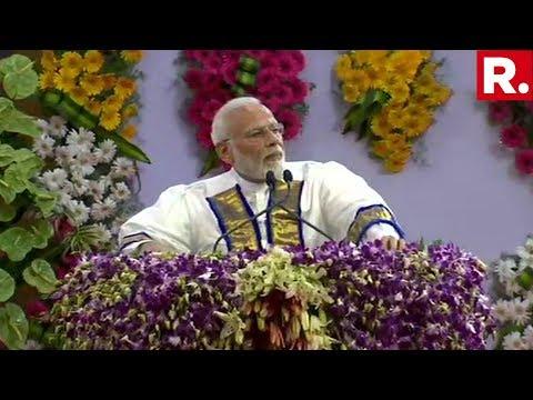 PM Modi Addresses The Convocation Ceremony At IIT-Madras