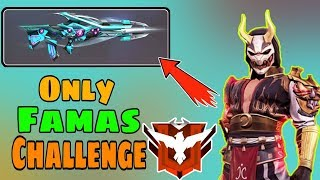 Only Famas Challenge in Ranked Heroic - Garena Free Fire - Desi Gamers