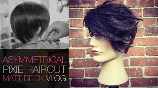 Asymmetrical Undercut Pixie Haircut With Tapered Edge