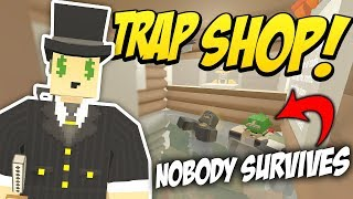 EPIC TRAP SHOP - Unturned Trap Base | So Much Loot!