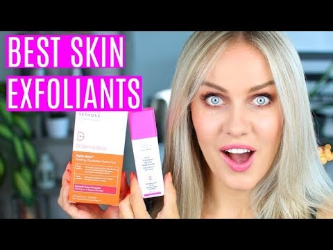 BEST EXFOLIANTS for clear, acne free skin