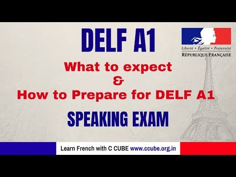 French DELF A1 Speaking Exam Practice - What to Expect and How ...