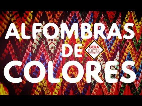 ALFOMBRAS de COLORES