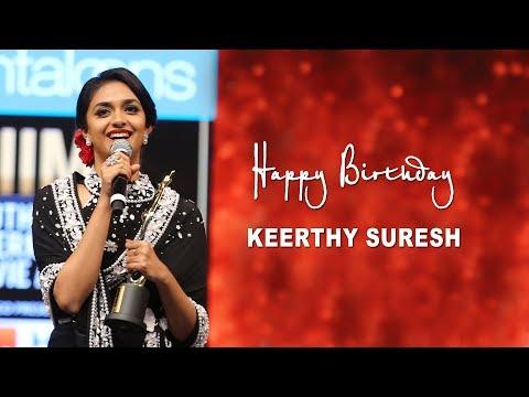 Keethy Suresh Gets Honoured at SIIMA   Happy Birthday