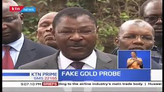 DPP says Moses Wetangula will record statement on fake gold probe