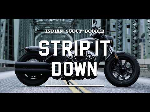 2018 Indian Scout® Bobber ABS in Saint Michael, Minnesota - Video 1