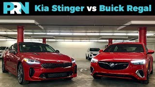 Buick Regal GS vs Kia Stinger GT