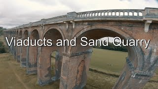 Viaducts and sand quarry FPV freestyle