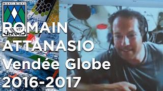 Romain Attanasio direct Vendée Globe Trophée Mer Montagne 2017 Saint-Gervais Mont-Blanc voyage
