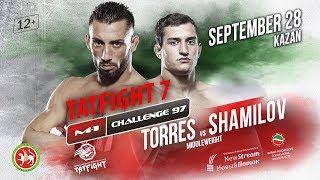 M-1 Challenge 97 & Tatfight 7: Энок Солвес Торрес vs Руслан Шамилов, 28 сентября
