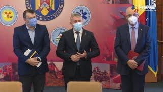 MAI: Au fost semnate două acorduri-cadru pentru achiziţionarea a 476 de autospeciale pentru pompieri