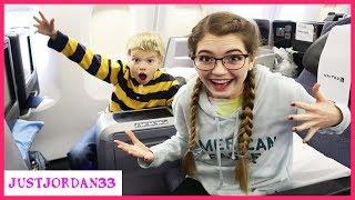 24 Hours On A Plane  JustJordan33