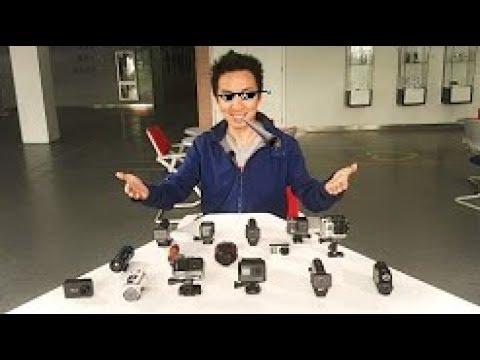 5 mejores cámaras de acción 4K alternativas a GoPro Hero 5