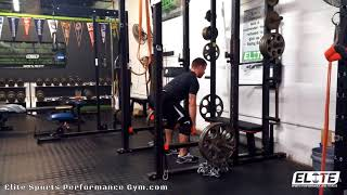Posterior chain strength is 🔑 to fast and powerful athletes