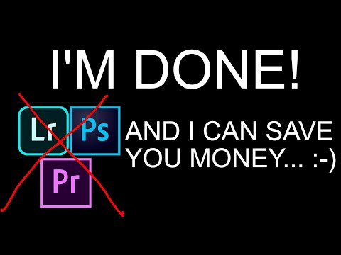 How to SAVE MONEY with Adobe Creative Cloud!    I AM DONE!