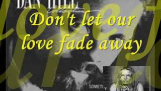 cant we try  by  dan hill & vonda shepard