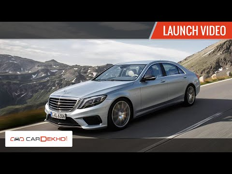 2015 Mercedes-AMG S63 Sedan Launch Video | CarDekho.com