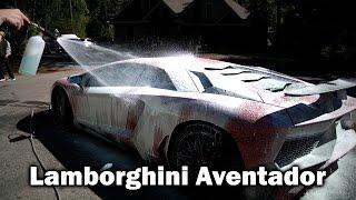 Lamborghini Aventador SV Detailing