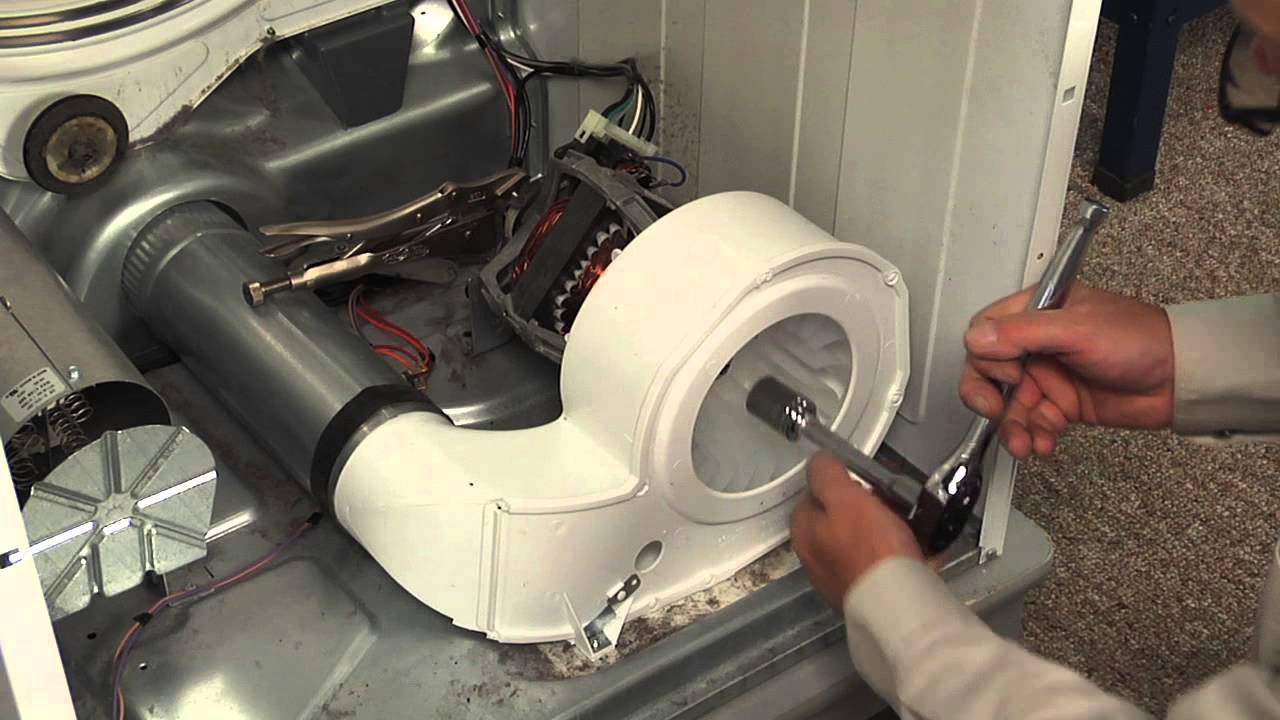 Replacing your Frigidaire Dryer Blower Housing with Blower Wheel